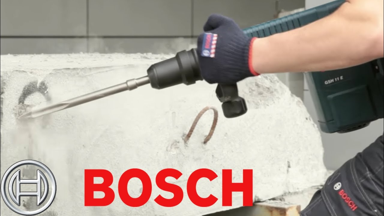 bosch demolition hammer bosch gsh 11 e professional jack hammer youtube. Black Bedroom Furniture Sets. Home Design Ideas