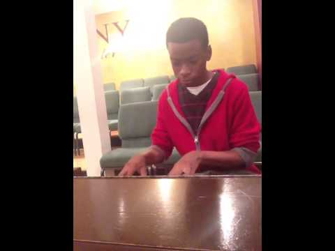 Lil Bishop Goin hard on organ MUST SEE! 14yrs old!