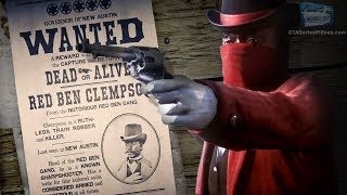 Red Dead Online Legendary Bounty #9 - Red Ben Clempson (5-Star Difficulty - Solo)