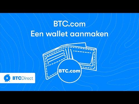 BTC.com Bitcoin/bitcoin Cash Wallet Aanmaken | BTC Direct