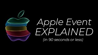 Apple iPhone Event in 90 seconds! (iPhone 11 Pro, iPad 7, Apple Watch & more!)
