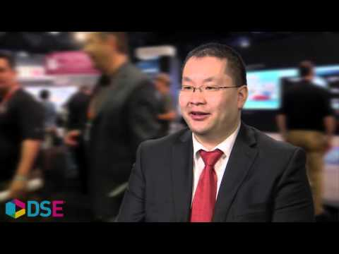 Lawrence Chang of Calgary TELUS Convention Centre at DSE 2016