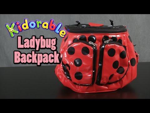 Ladybug Backpack from Kidorable