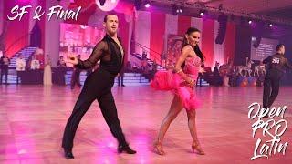 Open Professional Latin Championship I SF I Final I Millennium Dancesport 2019