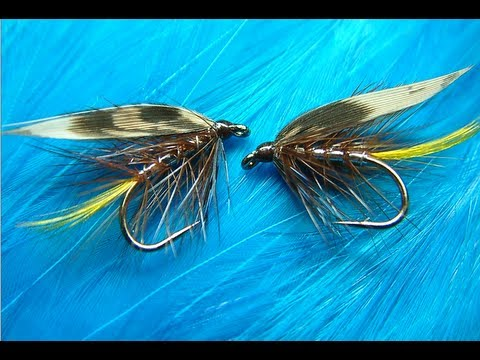 Tying a Silver Invicta Traditional Wet Fly with Davie McPhail
