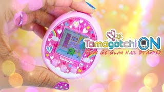 Unbox Daily: ALL NEW Tamagotchi ON plus Go Glam Nail Stamper