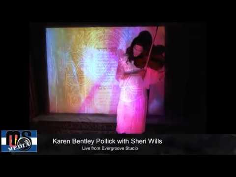 Karen Bentley Pollick & Sheri Wills LIVE on Mountian Size Presents 04/26/12