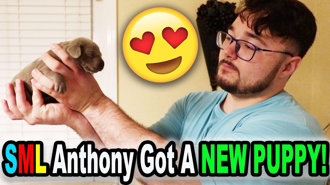 SML Anthony Got A NEW PUPPY!!!
