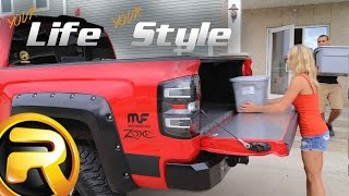 "Custom 2015 Chevy Silverado ""Big Red"" - Your Life Your Style"