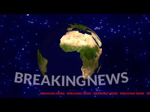 3D Breaking News Animation