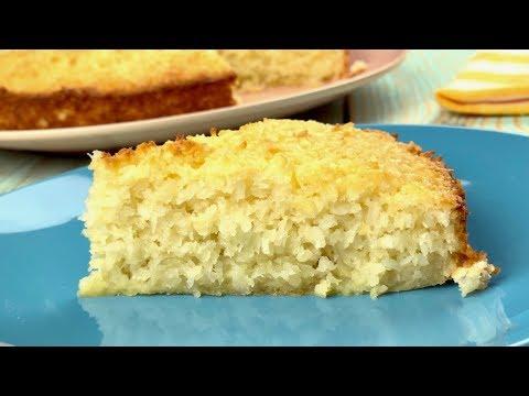 Кокосовый пирог со сливками – просто, вкусно, доступно!