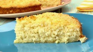 Кокосовый пирог со сливками – просто, вкусно, дост...