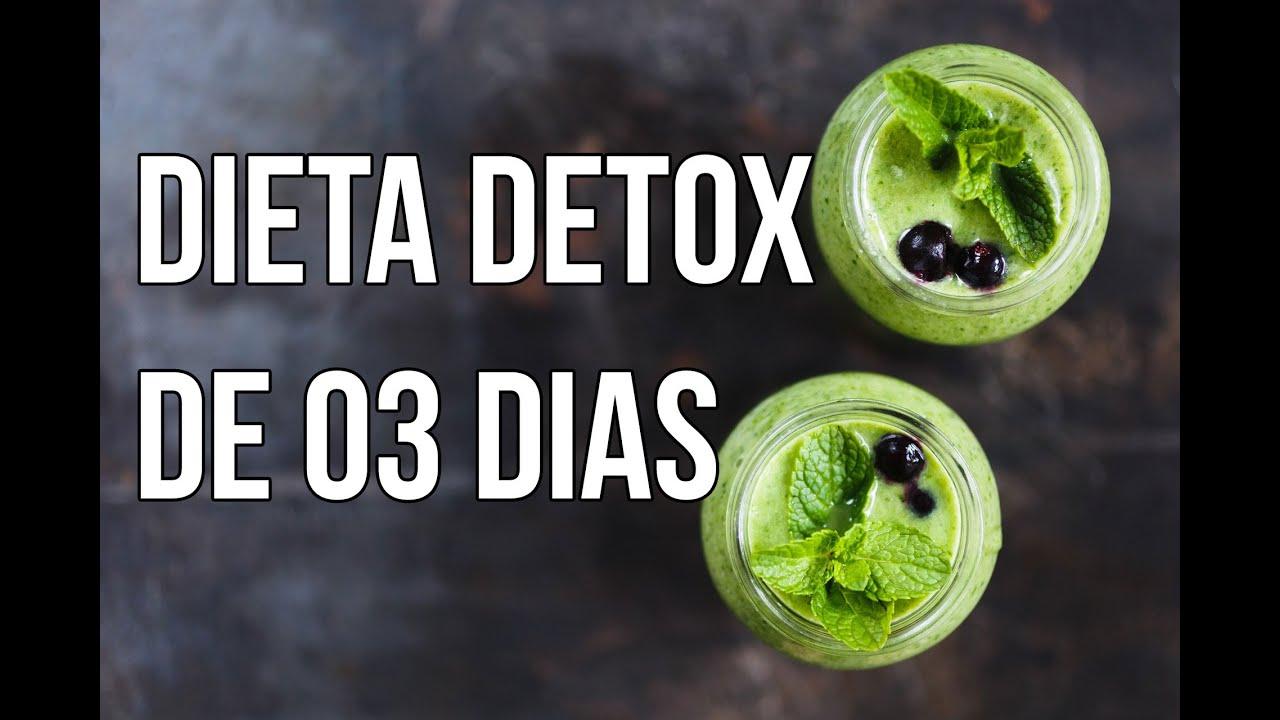 Dieta do suco detox 3 dias