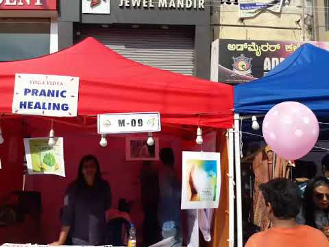 Our stall at Open Street Festival Dec 2017, Mysore