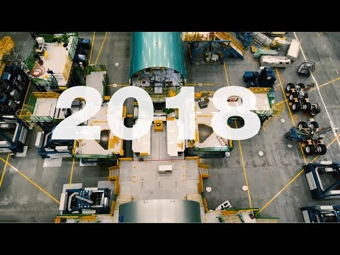 2018 Boeing Commercial Airplanes Year in Review