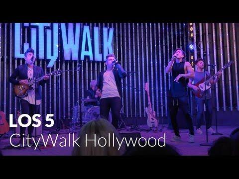 Los 5 Live at 5 Towers - CityWalk Hollywood - Universal Studios Hollywood