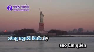 [ Karaoke HD ] Mashup Em Cứ Đi Đi (Anh cứ đi đi) - Rum ( Hồ Minh Triết ) Full Beat Tone Nữ ✔