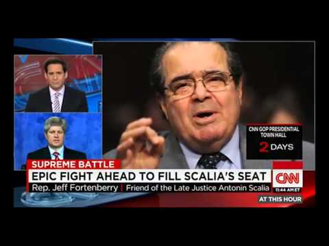 Fortenberry Remembers Justice Scalia with CNN's John Berman