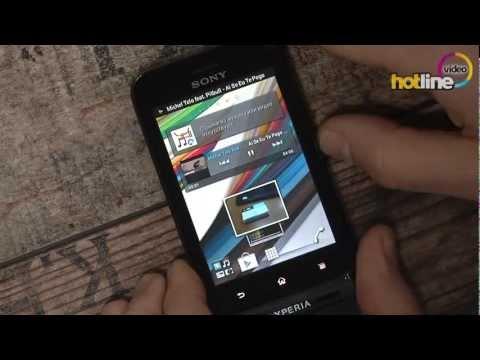 Обзор Sony Xperia tipo dual