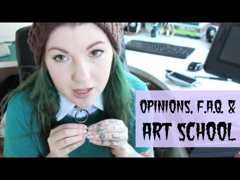 F.A.Q. Opinions and Art School Rant