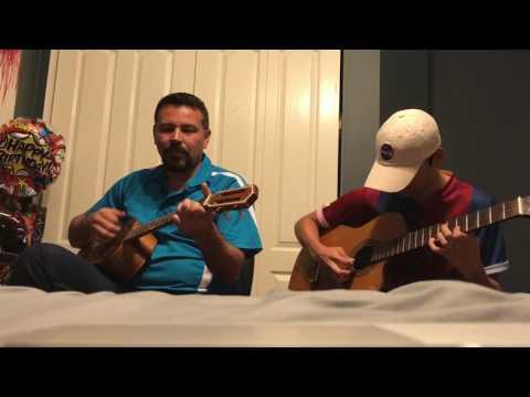 Andres Leon & Vladimir Leon - La Partida (Guitar Duet Cover)