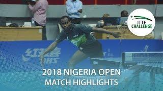Aruna Quadri vs Antonino Amato | 2018 Nigeria Open Highlights (R64)
