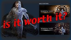 SHADOW OF WAR GOLD & SILVER EDITION Is It Worth It? [NO SPOILERS]