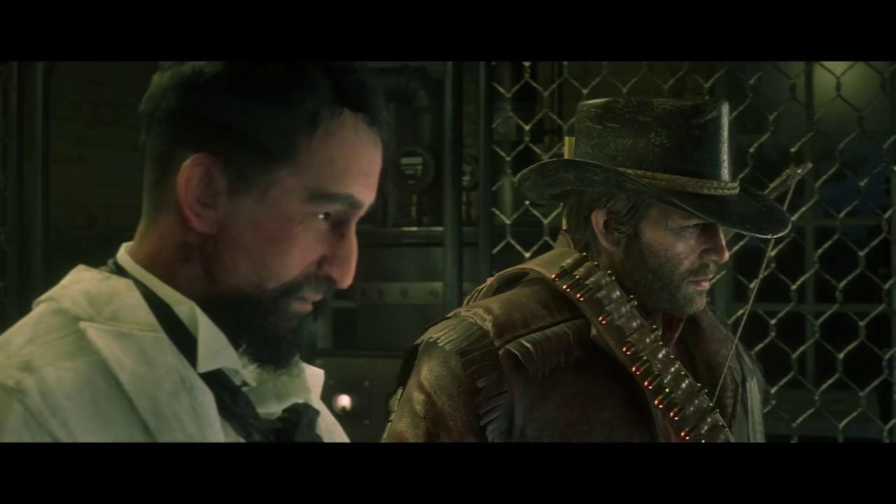 Red Dead Redemption 2 - Professor Marco Dragic Finale