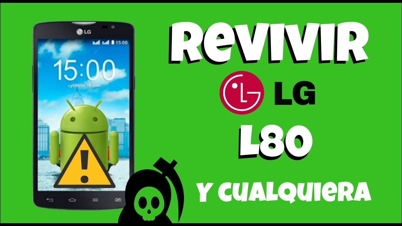 Revivir cualquier LG Fácil y Rápido !   No pasa del logo   Hard Reset