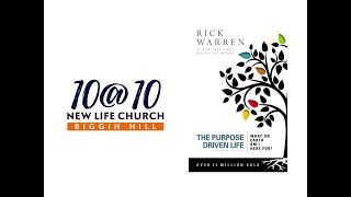 10@10 - The purpose driven life - Day 23 - Ben Holden