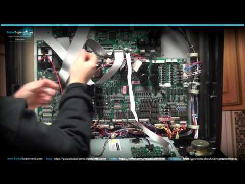 Pinball Mods # 32 : COLORDMD INSTALL ON Williams WPC-95 : No Good Gofers