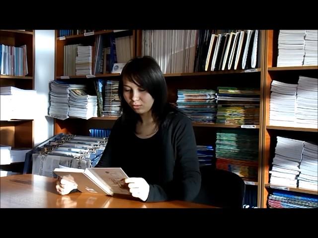 Изображение предпросмотра прочтения – АминаЖолдыбаева читает произведение «Молитва (В минуту жизни трудную…)» М.Ю.Лермонтова