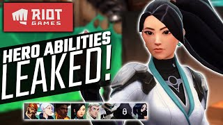 Riot's NEW FPS Heroes LEAKED! - Project A 'Valorant' Heroes & Abilities!