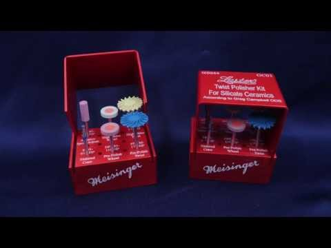 Twist Polisher Kit for Silicate Ceramics by Dr. Greg Campbell