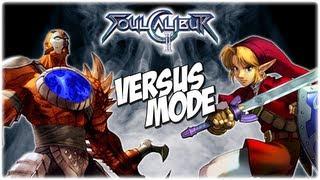 VERSUS MODE | Soul Calibur 2 | Part 1 | Retromation vs. R to the R