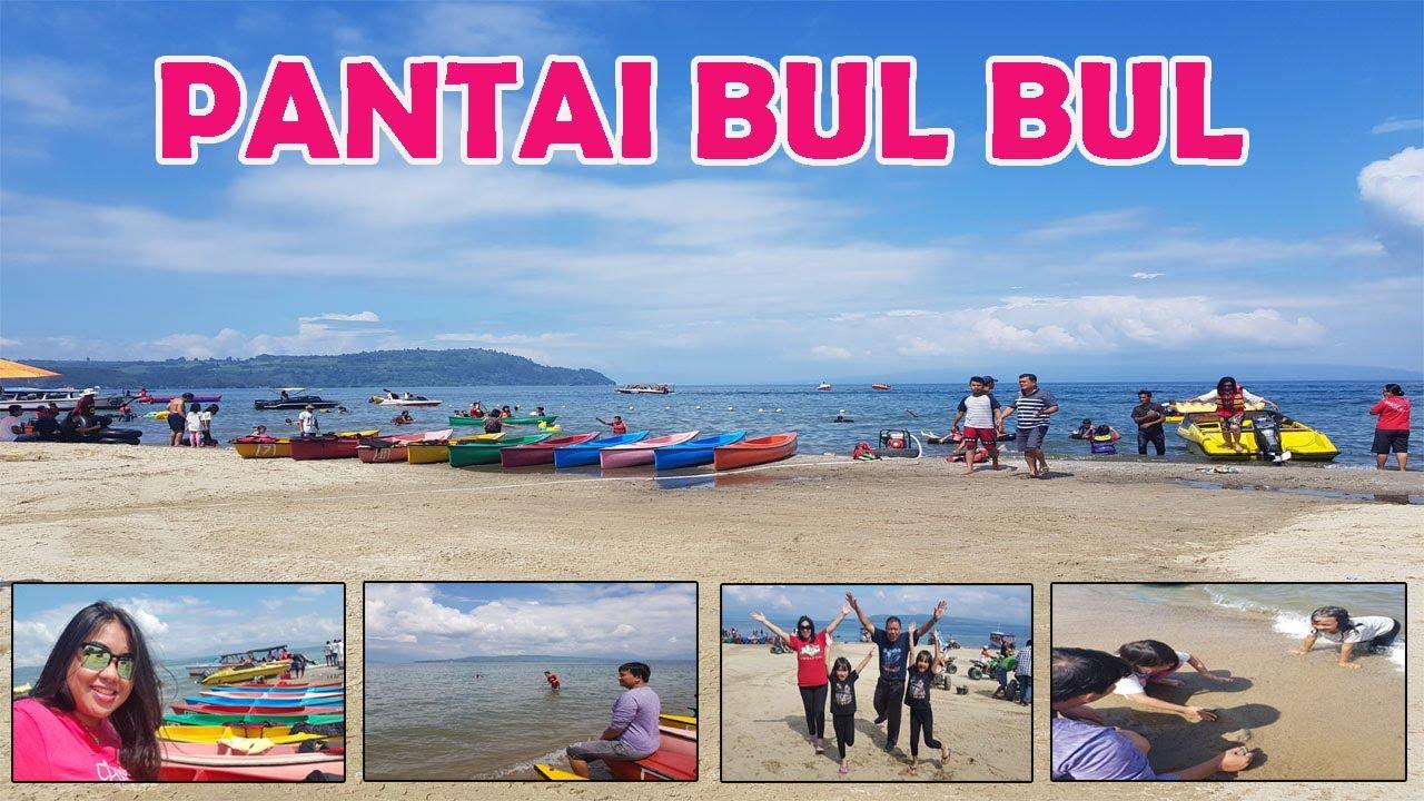 Jalan Jalan Ke Pantai Bul Bul Pasir Putih Balige Danau Toba Ii Toba Lake Youtube
