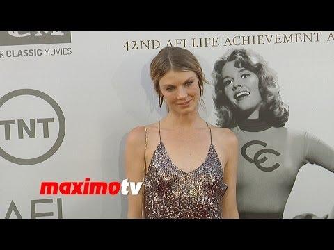 Angela Lindvall 2014 AFI Life Achievement Award Arrivals