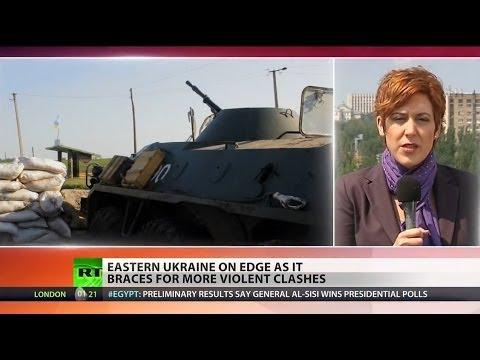 Fighters down Ukrainian military helicopter near Slavyansk