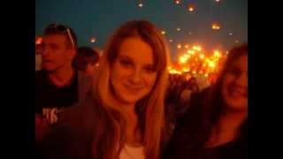 видео Последний звонок и массовый запуск небесных фонариков