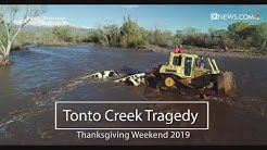 Truck recovered from Tonto Basin Creek after flooding kills 2 children