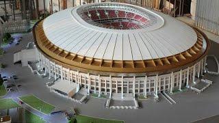 It now looks the Luzhniki stadium | World cup 2018 Russia stadium ||