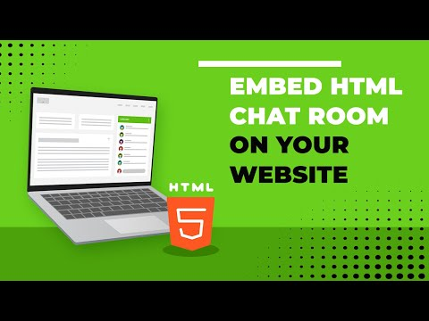 Embed HTML Chat Room On Your Website