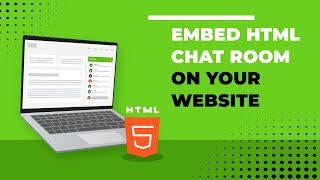 Embed HTML Chat Room on your website Mp3