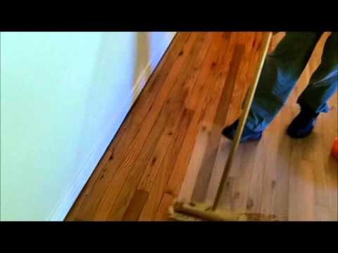 Red Oak Solid Wood Floor Restoration Full Project