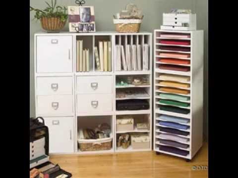 Superieur Scrapbook Paper Storage Ideas   YouTube