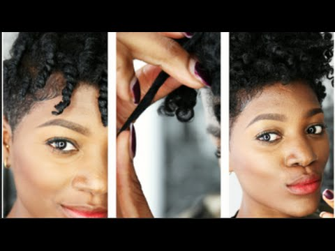 Best Twist Out On Natural Hair Tapered Cut Abis Hair Nl Youtube