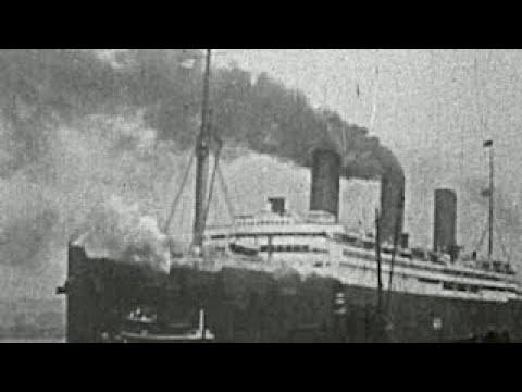 The Cunard Line Oceanews (circa 1928)