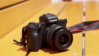 فتح صندوق كاميرا كانون EOS M50