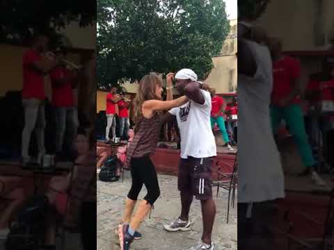 Salsa Dancing In Trinidad, Cuba With The Breath Of Cuba