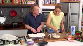 Csr Hazelnut & Vanilla Meringue Roulade | Good Chef Bad Chef S7 E30